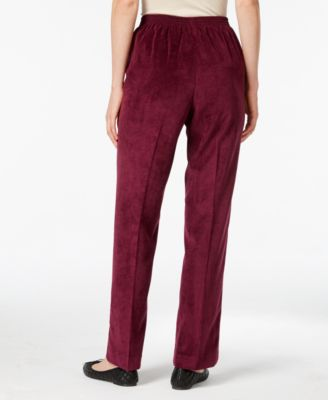 Alfred Dunner Corduroy Pull-On Pants
