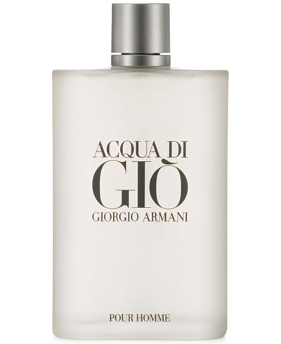 Giorgio Armani Acqua di Gio Eau de Toilette Spray, 6.7 oz - Shop All Brands - Beauty - Macy's