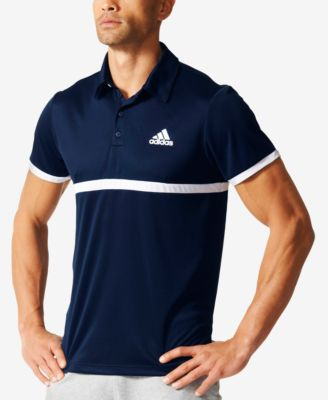 adidas Mens ClimaLite Court Tennis Polo