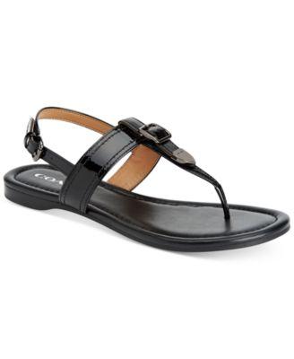 COACH Cassidy Buckle Sandals