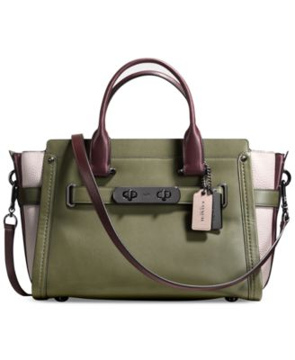 COACH Swagger in Colorblock Leather