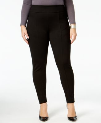NY Collection Plus Size Ponte Leggings