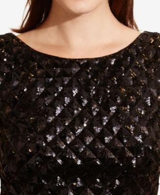 Lauren Ralph Lauren Sequined Top & Hig..