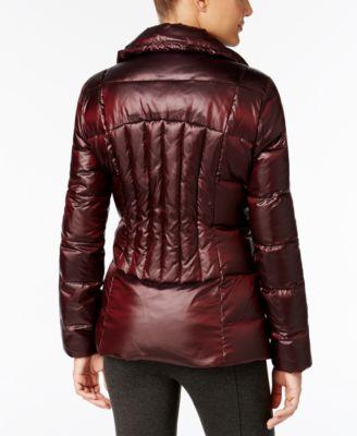 Calvin Klein Asymmetrical Puffer Coat Image