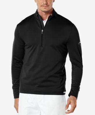 Callaway Mens Thermal Quarter-Zip Shirt