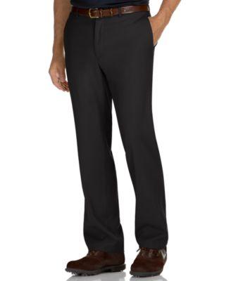 Perry Ellis Porfolio Big and Tall No Iron Flat Front Bengaline Dress Pants