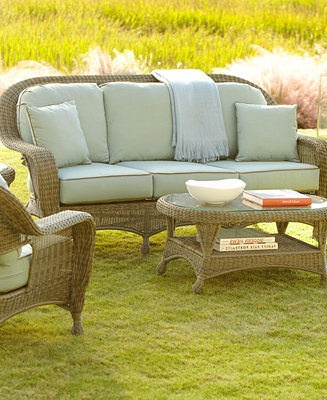Sandy Cove Outdoor Seating Collection Furniture Macy S