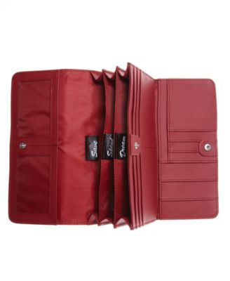 Giani Bernini Wallet Leather Receipt Manager