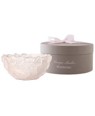Monique Lhuillier Waterford Bowl Limited Edition Blush