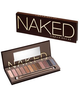 Urban Decay Naked Eyeshadow Palette - Makeup - Beauty - Macy's