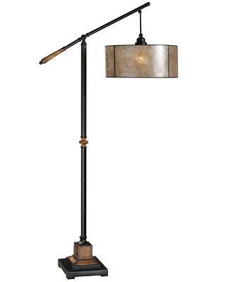 uttermost sitka floor lamp lighting lamps for the home macy 39 s. Black Bedroom Furniture Sets. Home Design Ideas