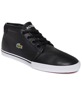 lacoste ampthill lcr mid sneakers  all men's shoes  men
