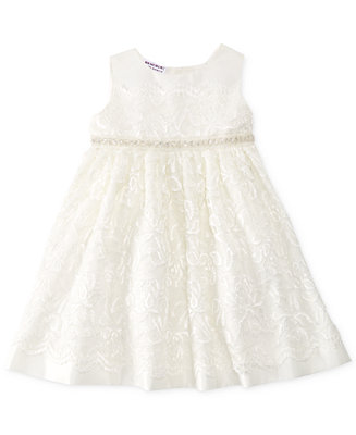 Blueberi Boulevard Baby Girls Lace Special Occasion Dress