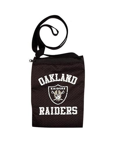 Little Earth Oakland Raiders Gameday Crossbody Bag