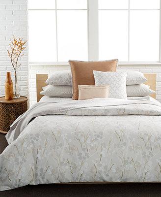 Calvin Klein Blanca King Duvet Cover Set Bedding