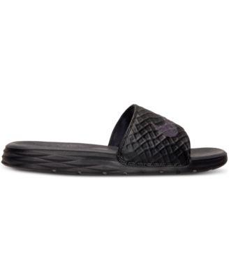 Nike Mens Benassi Solarsoft Slide 2 Sandals from Finish Line
