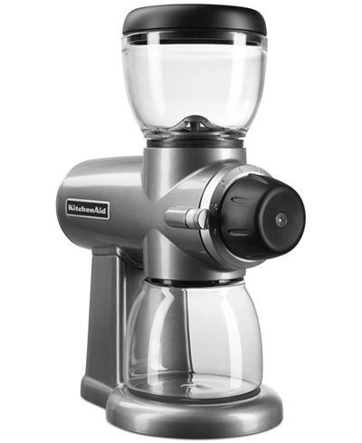 KitchenAid KCG0702 Burr Coffee Grinder - Coffee, Tea & Espresso - Kitchen - Macy's
