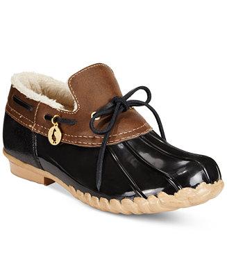Sporto Pamela Waterproof Duck Booties Boots Shoes Macy S