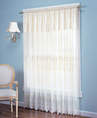 Panel Attached Valance Collection Curtains Drapes Macy