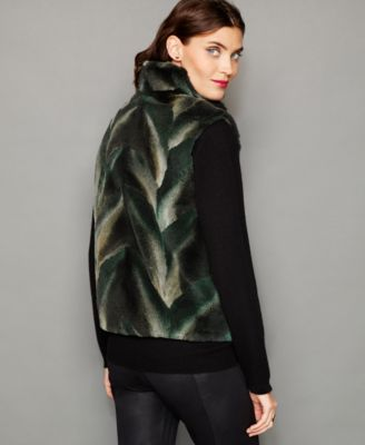 The Fur Vault Coyote Fur Vest