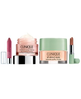 Receive a free 4-piece bonus gift with your $75 Clinique purchase