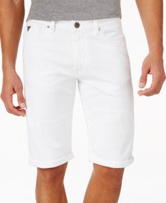 GUESS Mens Straight Leg Shorts