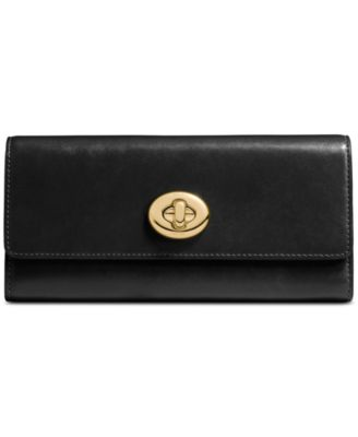 COACH Turnlock Slim Envelope Wallet in..