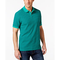 Club Room Feeder-Stripe Mens Polo