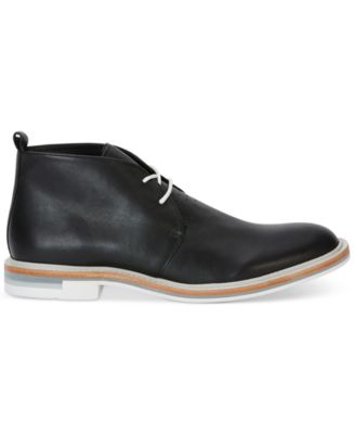 Calvin Klein Mens Jonas Leather Chukka..