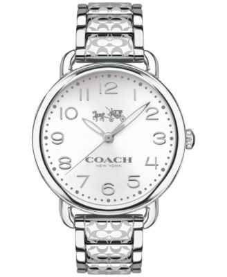 COACH WOMEN'S DELANCEY STAINLESS STEEL BRACELET WATCH 36MM 14502495