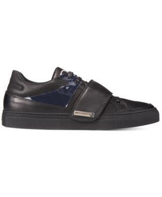 John Galliano Mens Alden B Strap Sneakers
