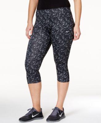 Nike Plus Size Printed Capri Leggings
