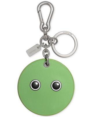 COACH Googly Emoji Bag Charm