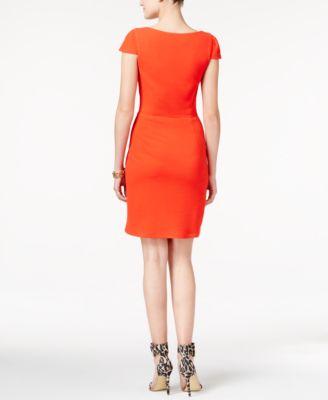 Jessica Simpson Embellished Cutout Sheath Dress