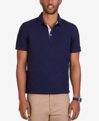 Nautica Mens Classic Fit Voyager Solid..