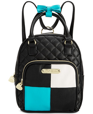 Betsey Johnson Mini Convertible Backpack Handbags