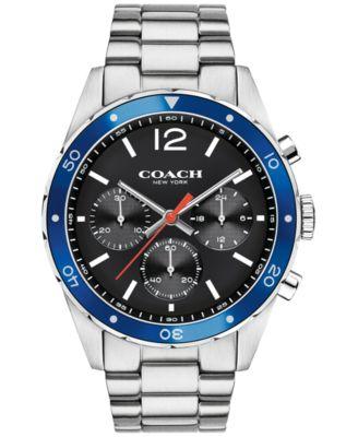 COACH Men's Chronograph Sullivan Sport Stainless Steel Bracelet Watch 44mm 14602084