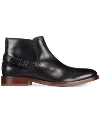 Johnston & Murphy Mens Garner Zip Boots