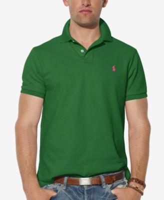 Polo Ralph Lauren Men Darkgreen Custom-Fit Mesh