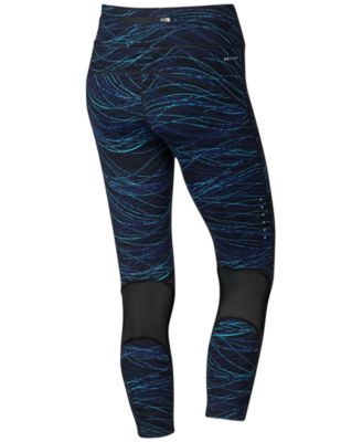 Nike Power Epic Lux Printed Cropped Running Leggings