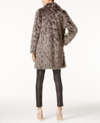 Vera Wang Coat Faux-Fur Coat