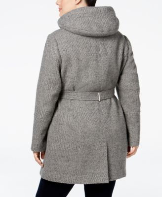 Calvin Klein Plus Size Hooded Walker C..