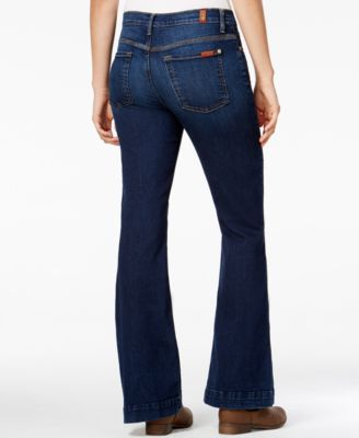 7 For All Mankind Flare Jeans Buckingham Blue Wash