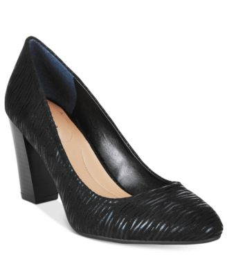 Style & Co. Asyaa Block-Heel Pumps