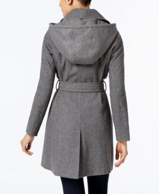 MICHAEL Michael Kors Wool-Blend Hooded..