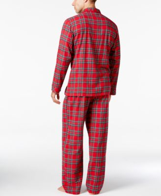 Family Pajamas Mens Holiday Plaid Paja..