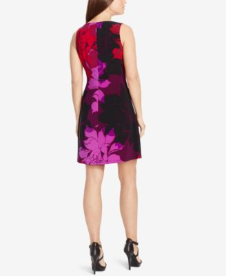American Living Floral-Print Jersey Dr..