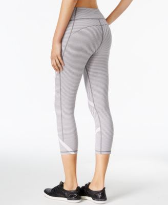 Calvin Klein Performance Striped Capri..