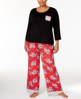 Ellen Tracy Plus Size Contrast-Trimmed..