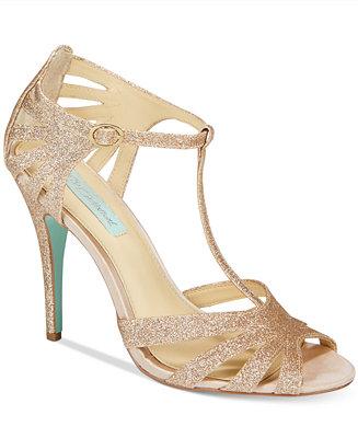 Blue By Betsey Johnson Tee Evening Sandals Women Macy S
